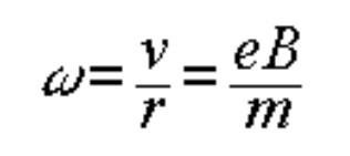 equation for angular frequency (omega)